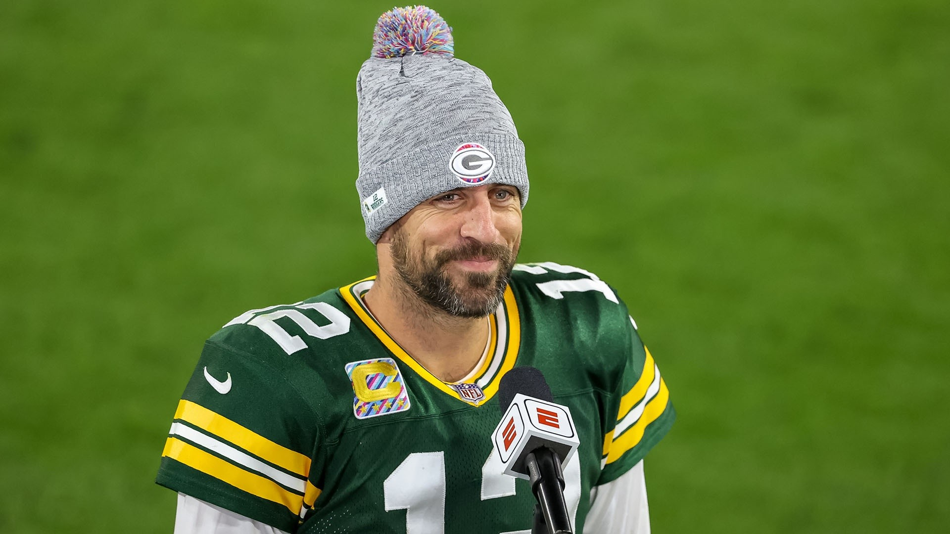Aaron Rodgers Media Quarterback Comments Pat Mcafee Show Snotapwi